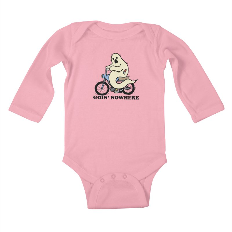 GOIN' NOWHERE Kids Baby Longsleeve Bodysuit by Tittybats