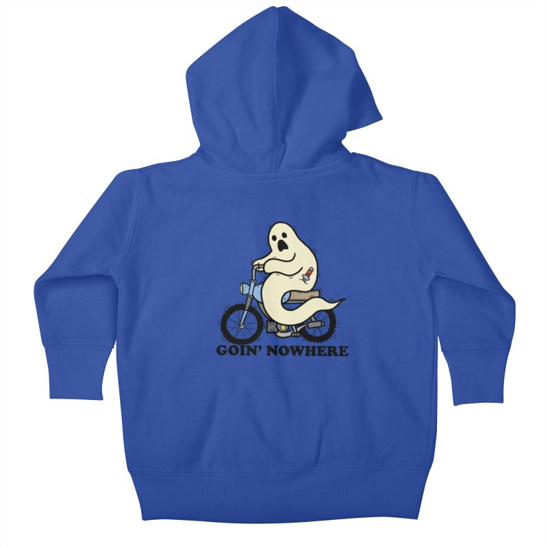 GOIN' NOWHERE Kids Baby Zip-Up Hoody by Tittybats