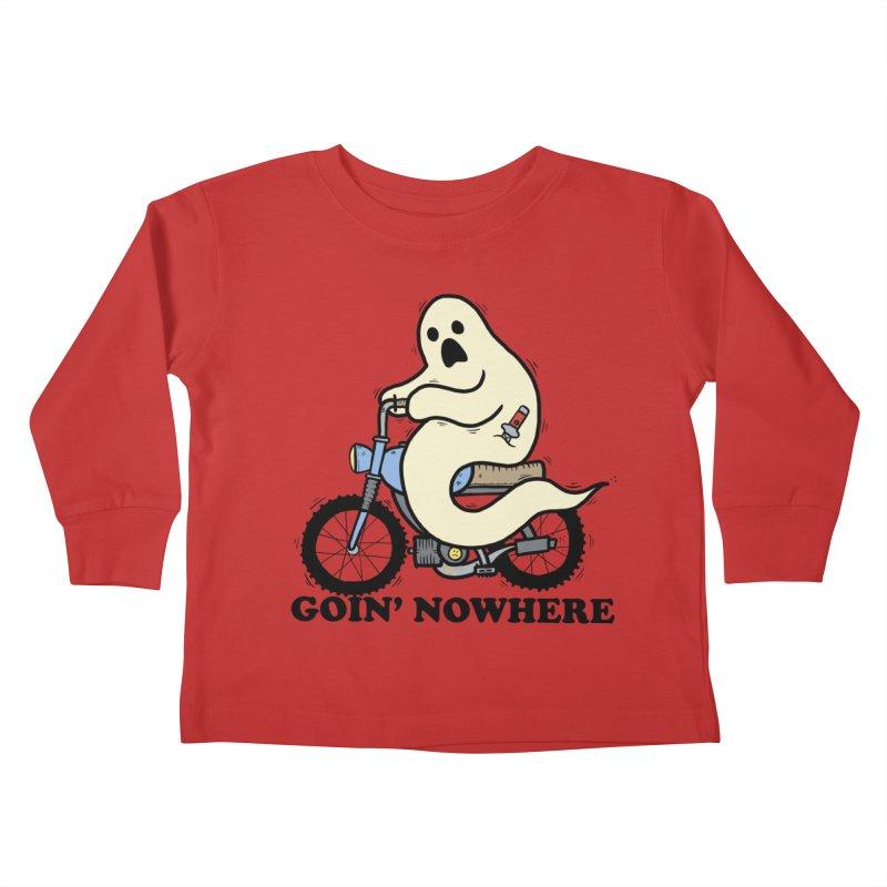 GOIN' NOWHERE Kids Toddler Longsleeve T-Shirt by Tittybats