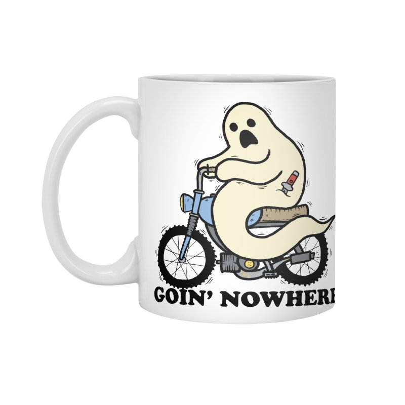 GOIN' NOWHERE Accessories Standard Mug by Tittybats