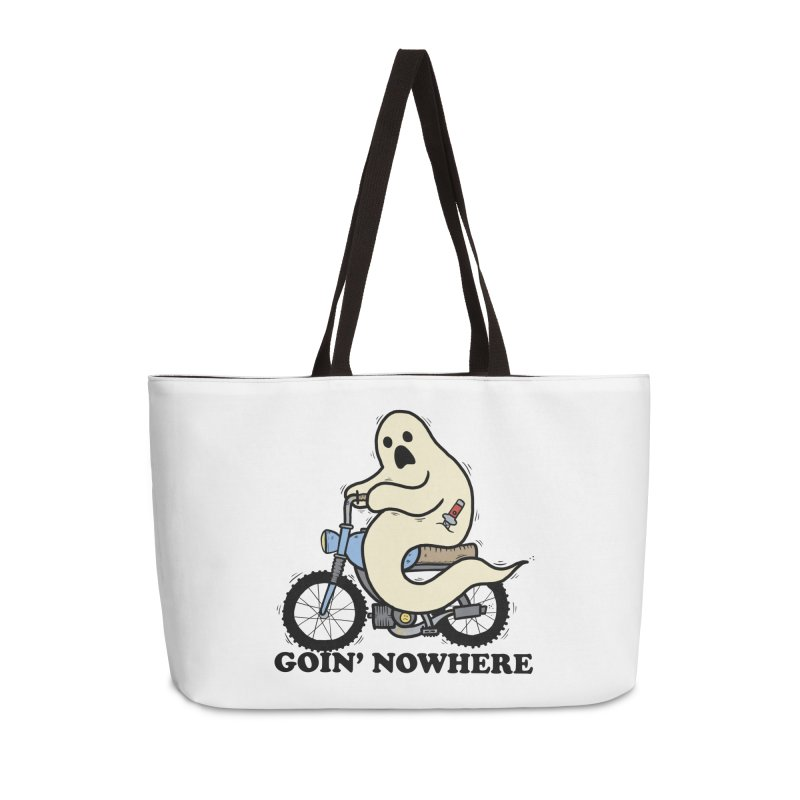 GOIN' NOWHERE Accessories Weekender Bag Bag by Tittybats