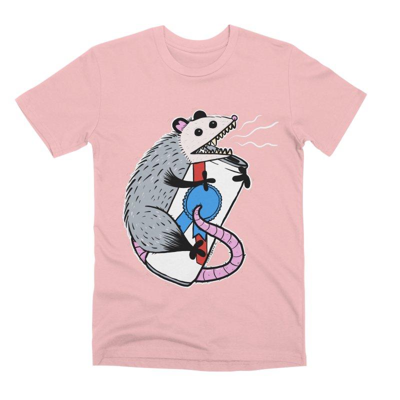 DRUNK POSSUM Men's Premium T-Shirt by Tittybats