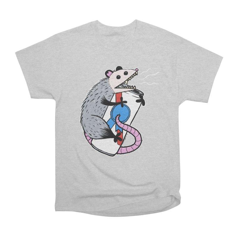 DRUNK POSSUM Women's Heavyweight Unisex T-Shirt by Tittybats