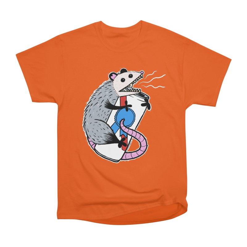 DRUNK POSSUM Men's Heavyweight T-Shirt by Tittybats