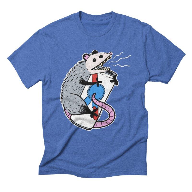 DRUNK POSSUM Men's Triblend T-Shirt by Tittybats