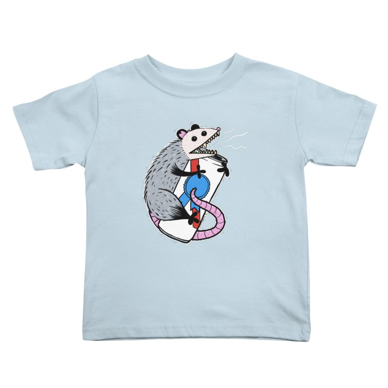DRUNK POSSUM Kids Toddler T-Shirt by Tittybats