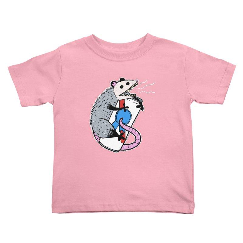DRUNK POSSUM Kids Toddler T-Shirt by Tittybats
