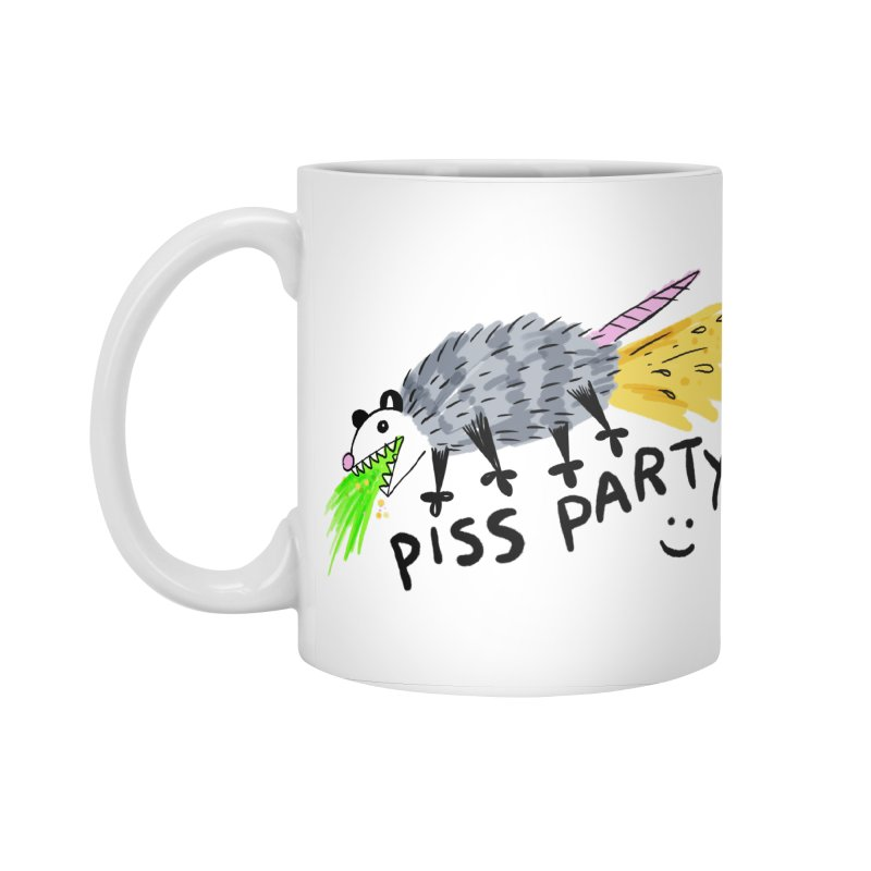 PISS PARTY Accessories Standard Mug by Tittybats