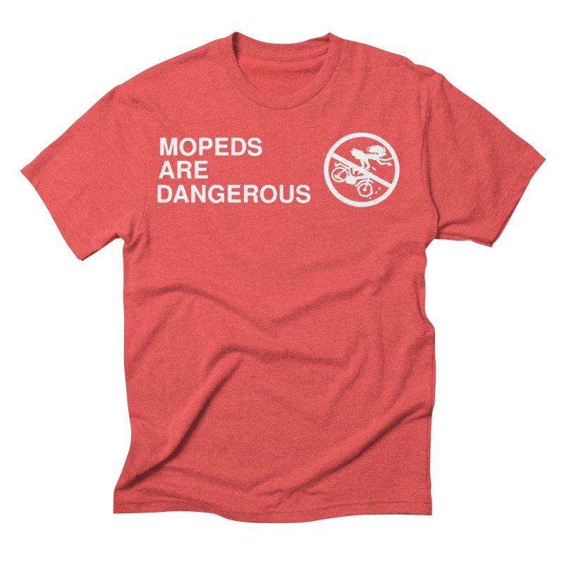 MOPEDS ARE DANGEROUS Men's Triblend T-Shirt by Tittybats