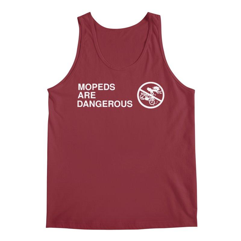 MOPEDS ARE DANGEROUS Men's Tank by Tittybats