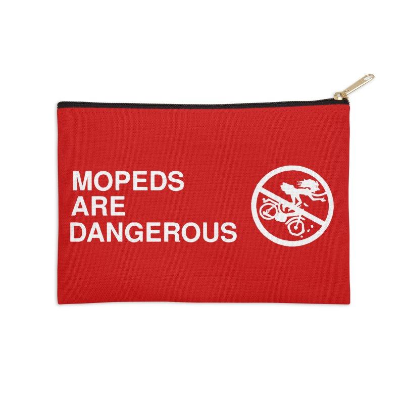 MOPEDS ARE DANGEROUS Accessories Zip Pouch by Tittybats's Artist Shop