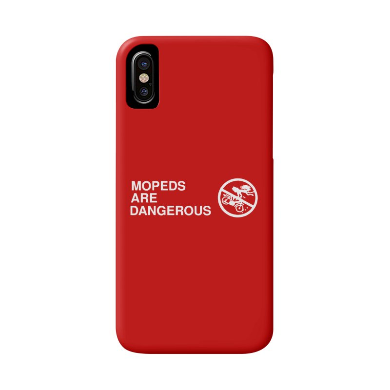 MOPEDS ARE DANGEROUS Accessories Phone Case by Tittybats's Artist Shop