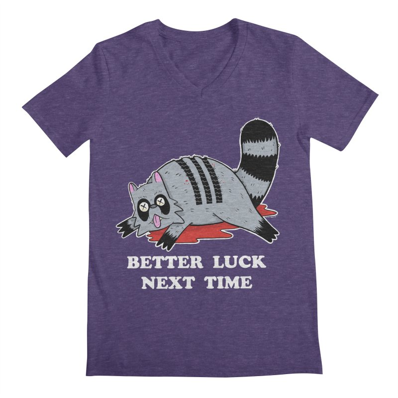 BETTER LUCK NEXT TIME Men's Regular V-Neck by Tittybats