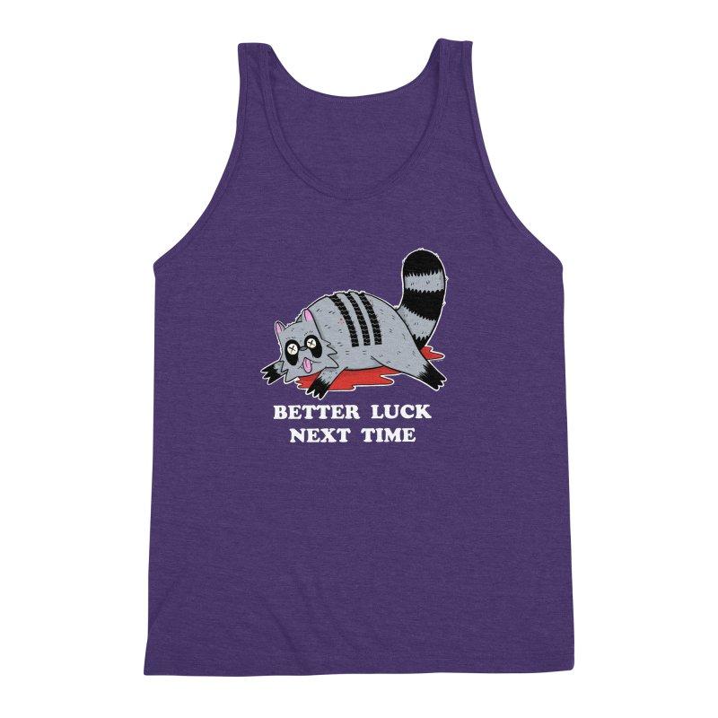BETTER LUCK NEXT TIME Men's Triblend Tank by Tittybats