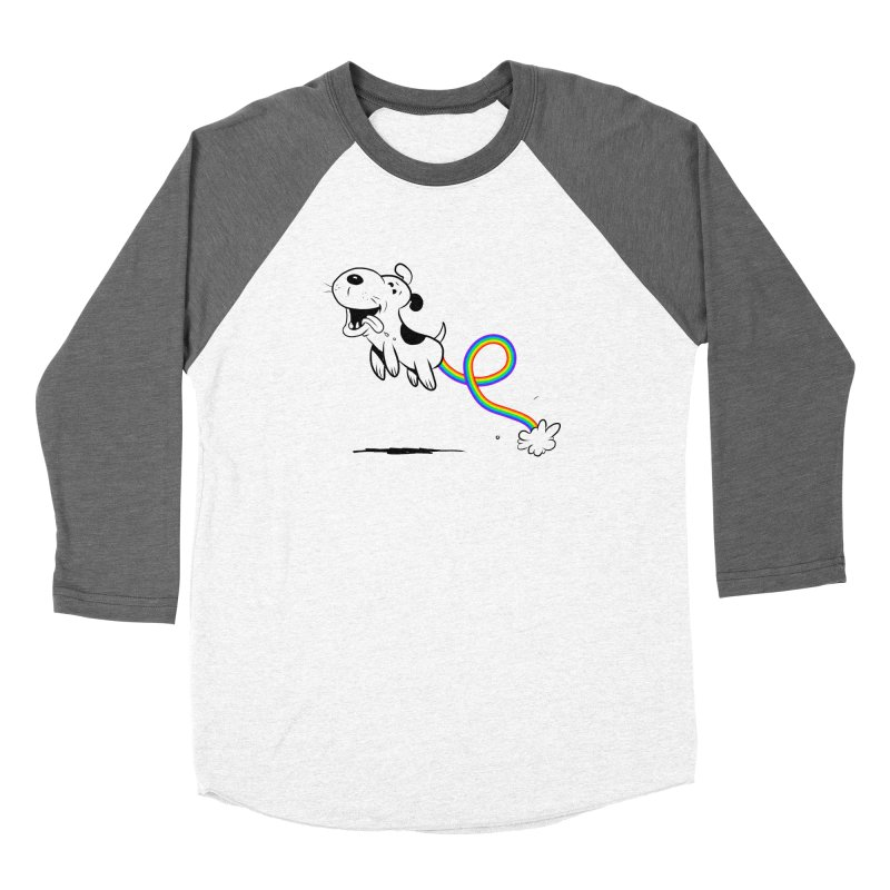 over the rainbow Men's Baseball Triblend Longsleeve T-Shirt by Toadhouse Editions