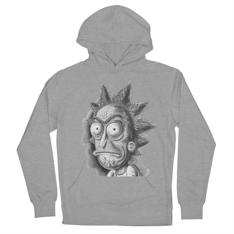 Rick Sanchez Women's French Terry Pullover Hoody by Toadhouse Editions