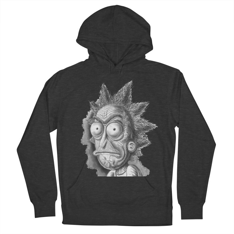 Rick Sanchez Men's French Terry Pullover Hoody by Toadhouse Editions