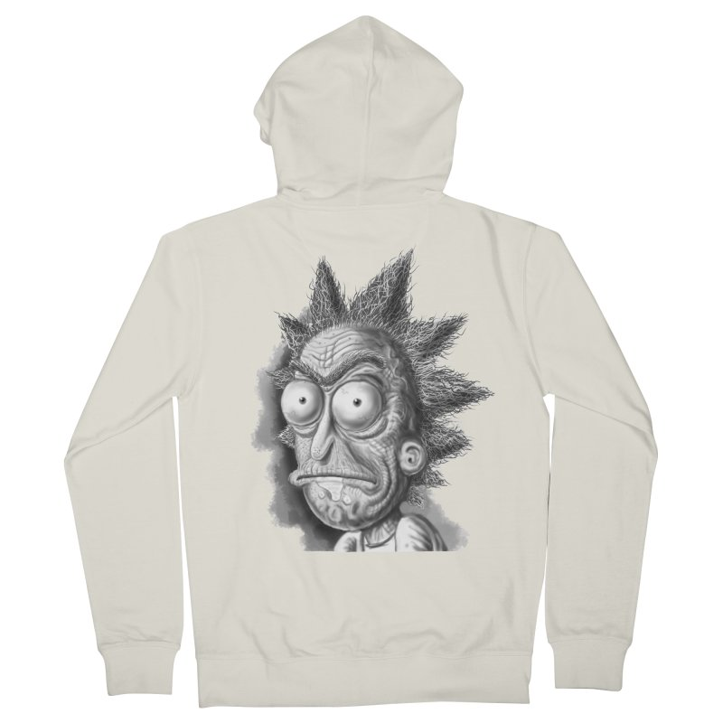 Rick Sanchez Women's French Terry Zip-Up Hoody by Toadhouse Editions