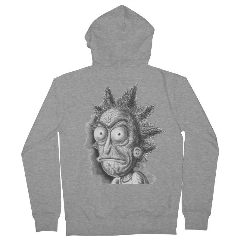 Rick Sanchez Men's French Terry Zip-Up Hoody by Toadhouse Editions