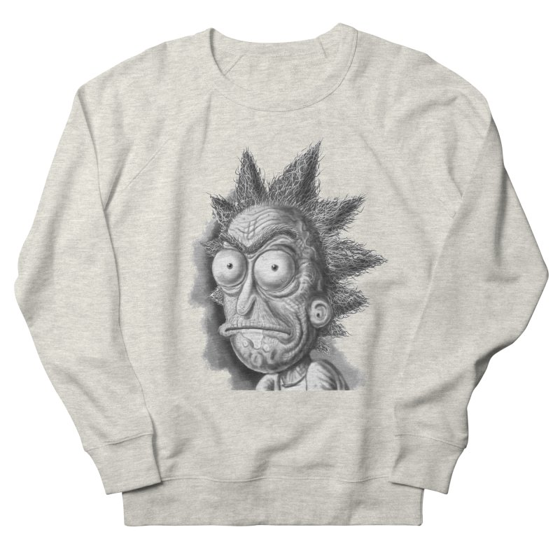 Rick Sanchez Women's French Terry Sweatshirt by Toadhouse Editions