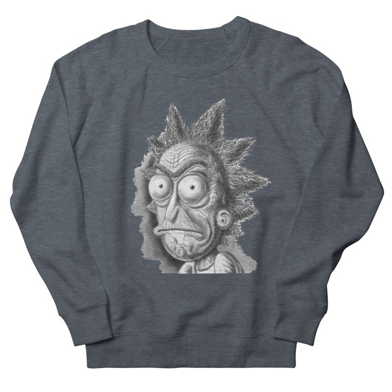 Rick Sanchez Men's French Terry Sweatshirt by Toadhouse Editions