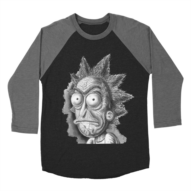 Rick Sanchez Women's Baseball Triblend Longsleeve T-Shirt by Toadhouse Editions