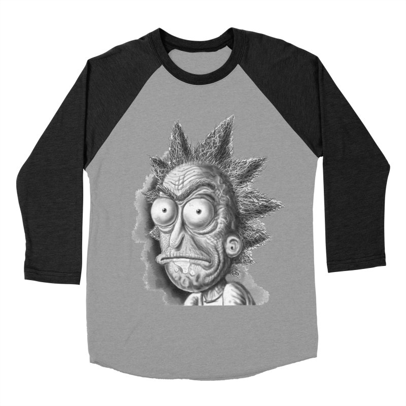 Rick Sanchez Men's Baseball Triblend Longsleeve T-Shirt by Toadhouse Editions
