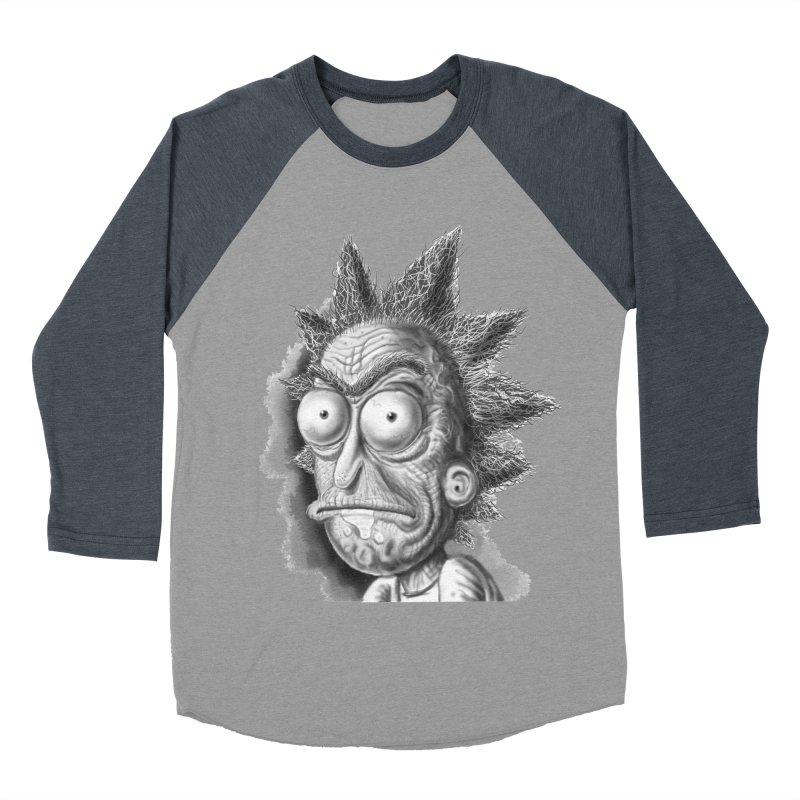 Rick Sanchez Men's Baseball Triblend Longsleeve T-Shirt by Toadhouse Editions