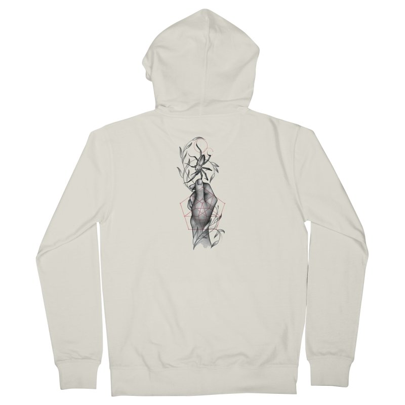 Her Beloved Pet Women's French Terry Zip-Up Hoody by Toadhouse Editions