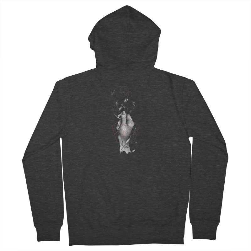 Her Beloved Pet Men's French Terry Zip-Up Hoody by Toadhouse Editions