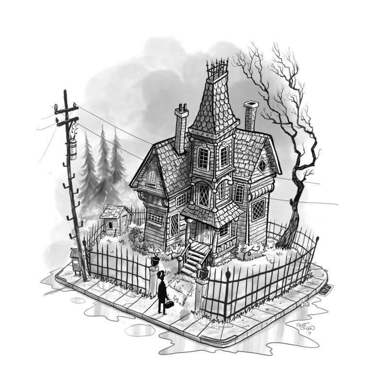 ghost house by Toadhouse Editions