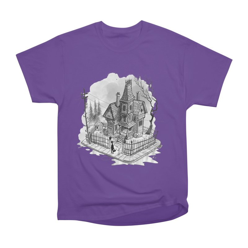 ghost house Men's Heavyweight T-Shirt by Toadhouse Editions