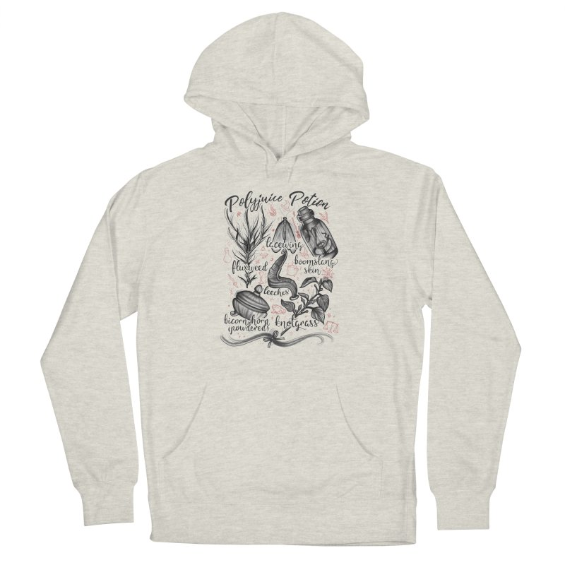 Polyjuice Potion Men's French Terry Pullover Hoody by Toadhouse Editions