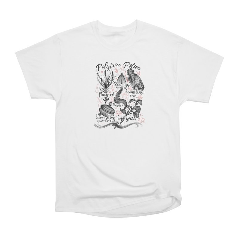 Polyjuice Potion Men's Heavyweight T-Shirt by Toadhouse Editions