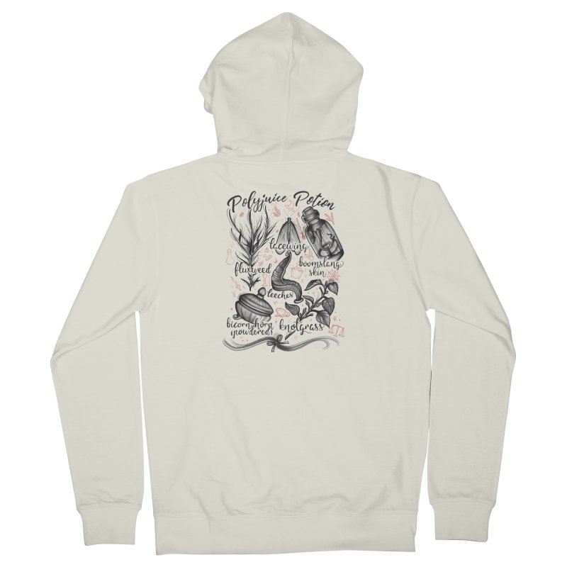 Polyjuice Potion Women's French Terry Zip-Up Hoody by Toadhouse Editions