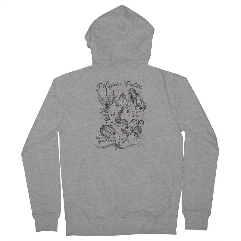 Polyjuice Potion Men's French Terry Zip-Up Hoody by Toadhouse Editions