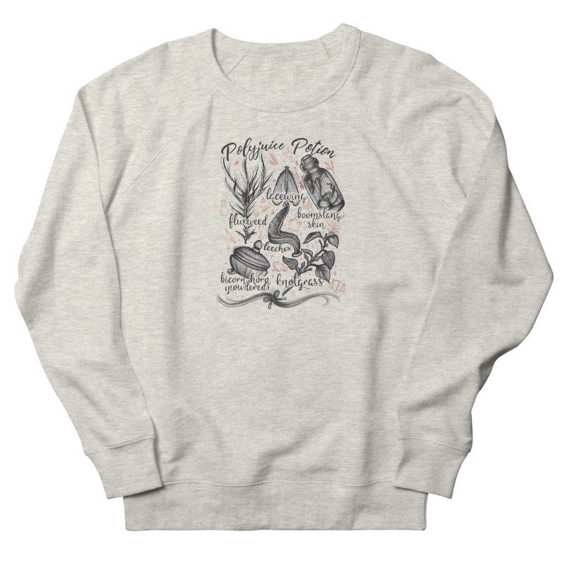 Polyjuice Potion Women's French Terry Sweatshirt by Toadhouse Editions