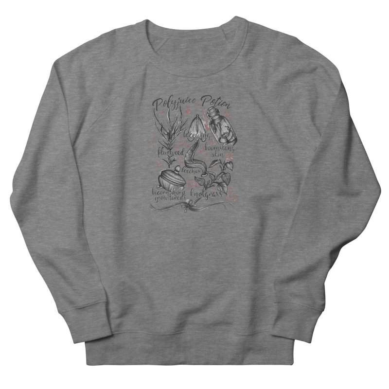 Polyjuice Potion Men's French Terry Sweatshirt by Toadhouse Editions