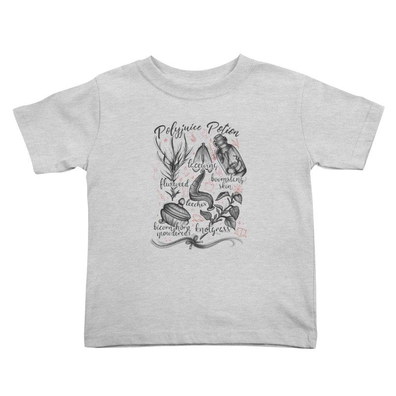 Polyjuice Potion Kids Toddler T-Shirt by Toadhouse Editions