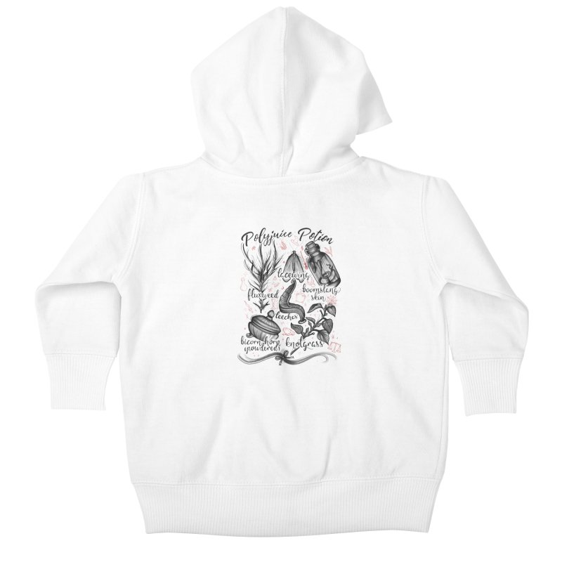 Polyjuice Potion Kids Baby Zip-Up Hoody by Toadhouse Editions