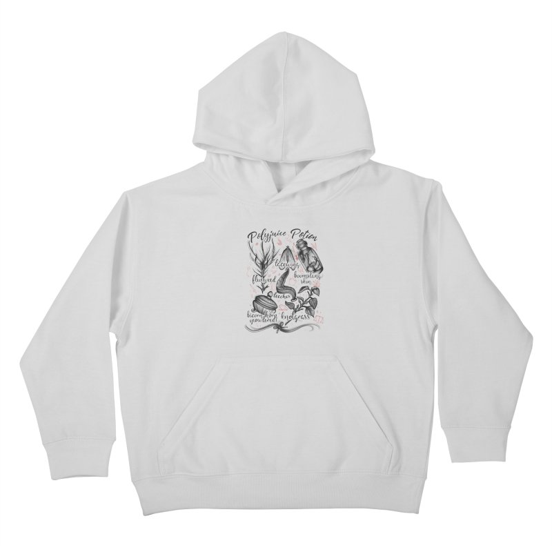 Polyjuice Potion Kids Pullover Hoody by Toadhouse Editions