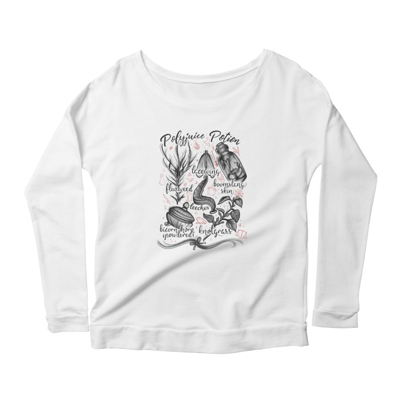 Polyjuice Potion Women's Scoop Neck Longsleeve T-Shirt by Toadhouse Editions