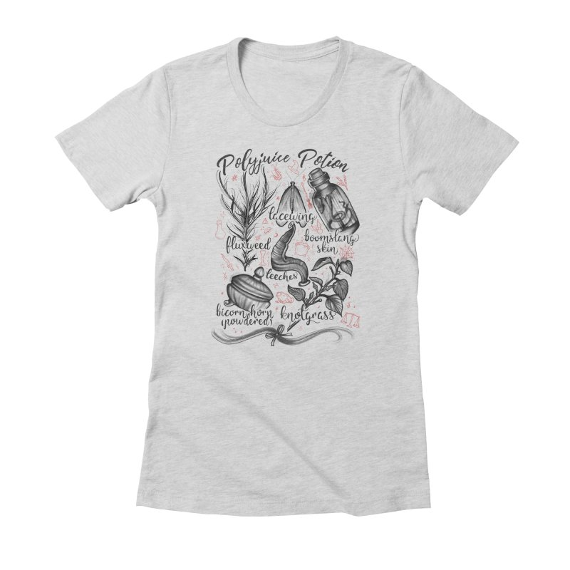 Polyjuice Potion Women's Fitted T-Shirt by Toadhouse Editions