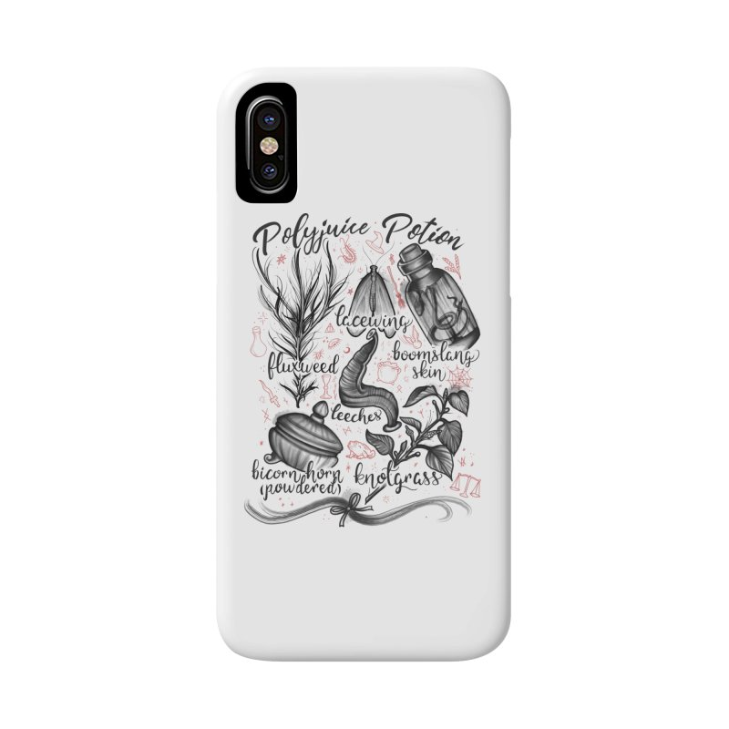 Polyjuice Potion Accessories Phone Case by Toadhouse Editions