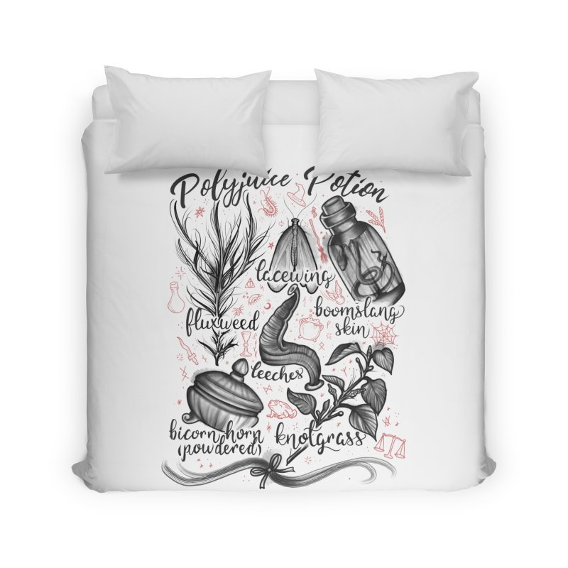 Polyjuice Potion Home Duvet by Toadhouse Editions