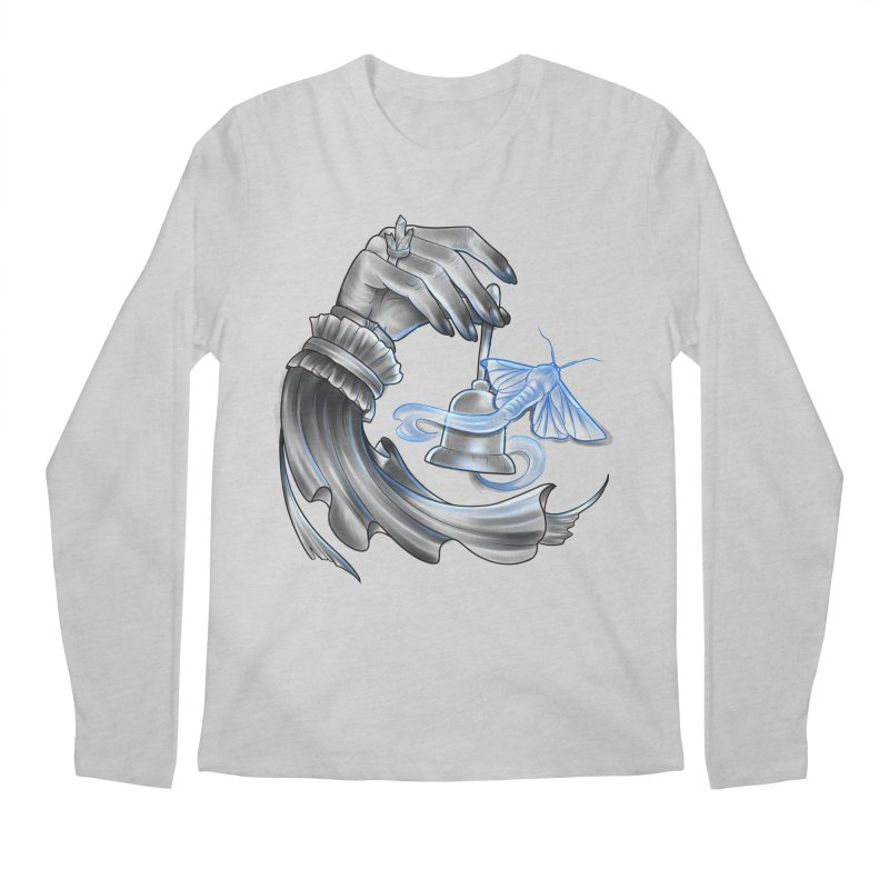 The Wisp Men's Regular Longsleeve T-Shirt by Toadhouse Editions