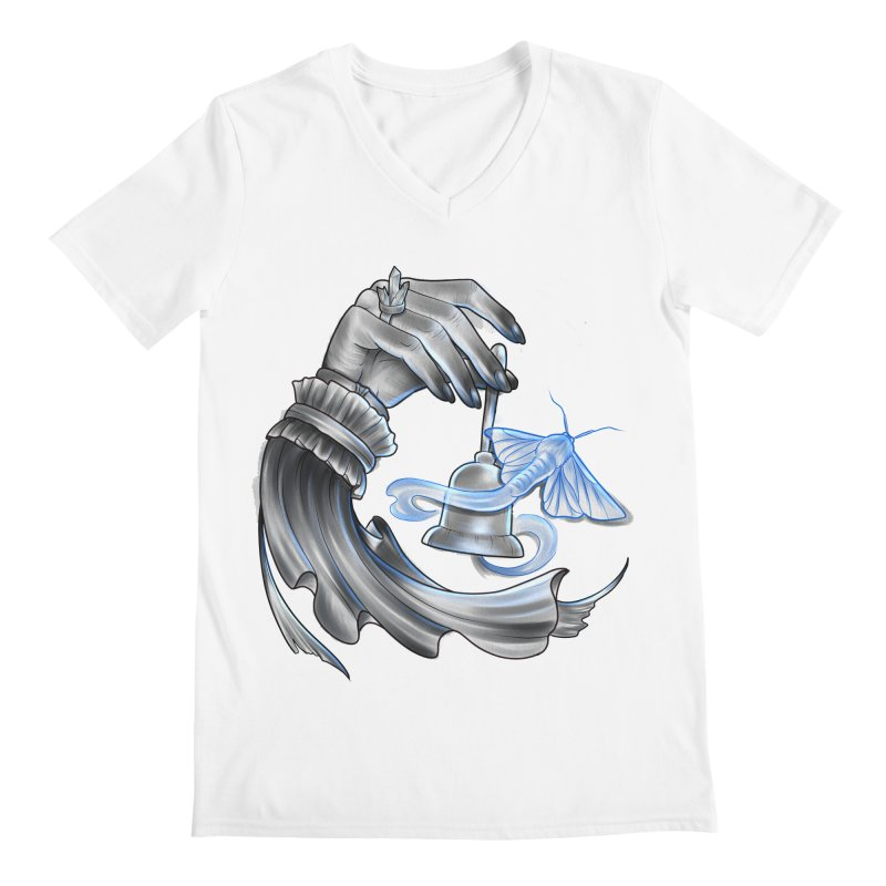The Wisp Men's Regular V-Neck by Toadhouse Editions