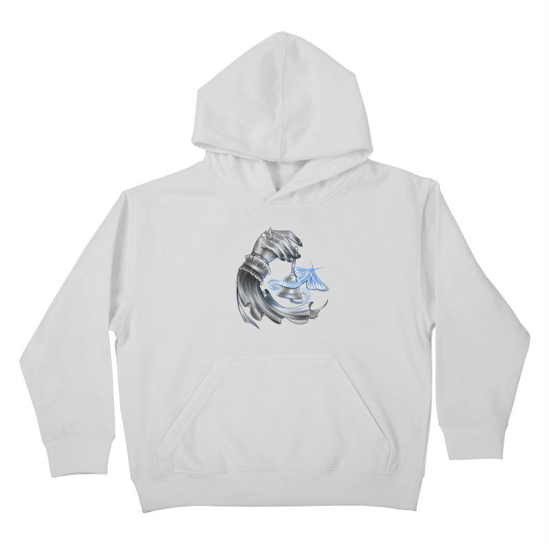 The Wisp Kids Pullover Hoody by Toadhouse Editions