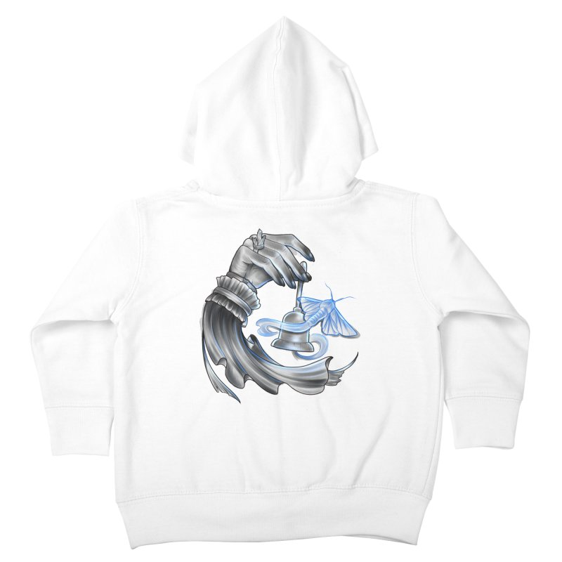 The Wisp Kids Toddler Zip-Up Hoody by Toadhouse Editions