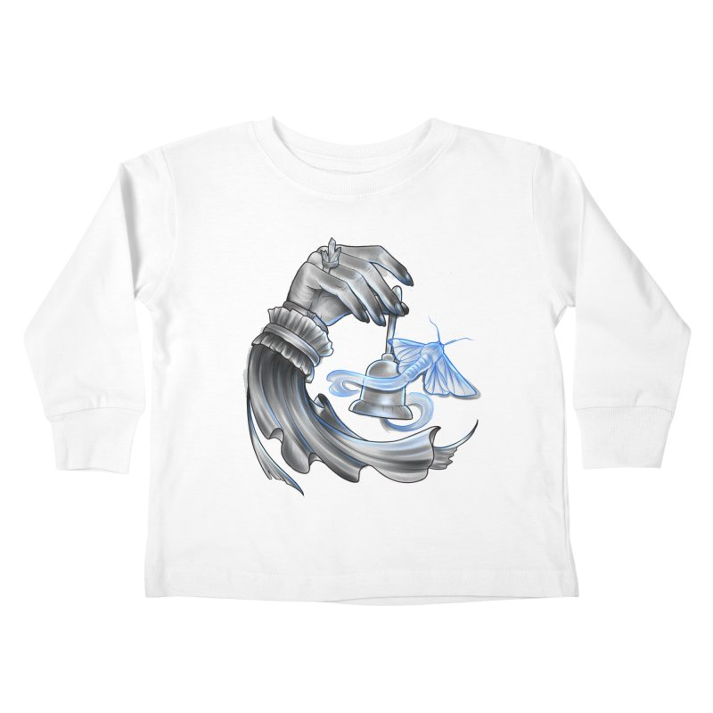 The Wisp Kids Toddler Longsleeve T-Shirt by Toadhouse Editions